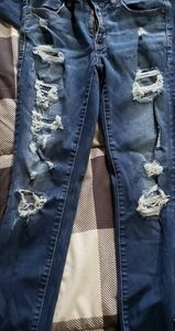 American eagle skinny ankle jeans